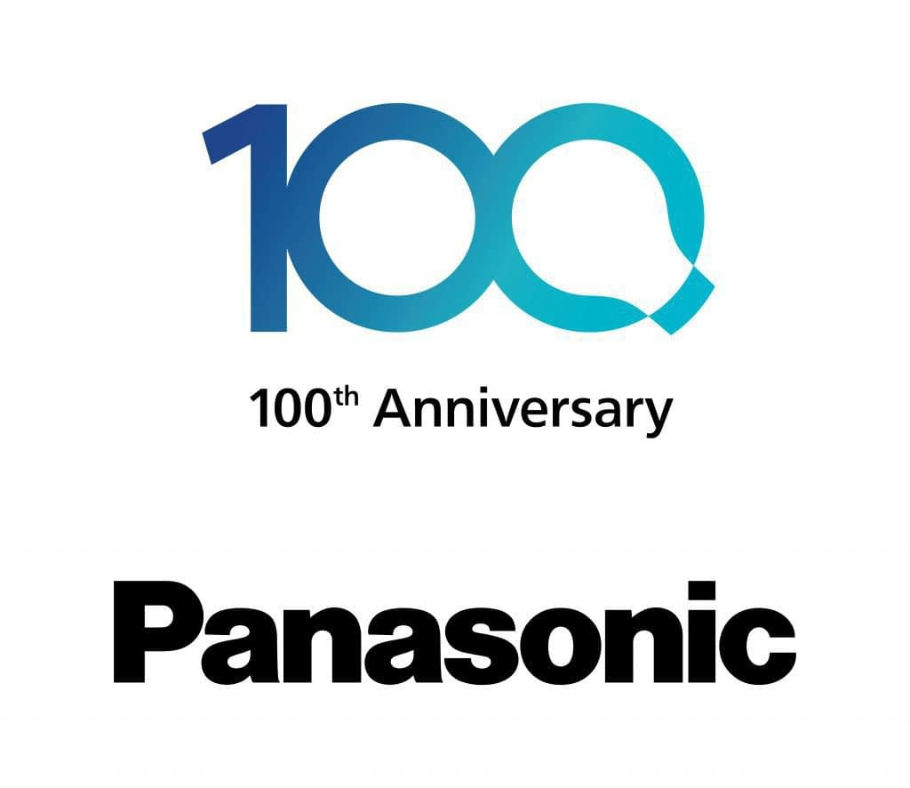 100 FY2017 Panasonic 100 Jahre Logo