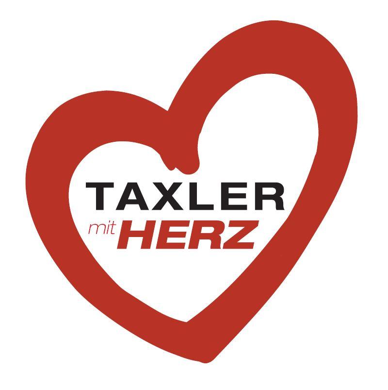 mytaxi_Taxler mit Herz Sticker