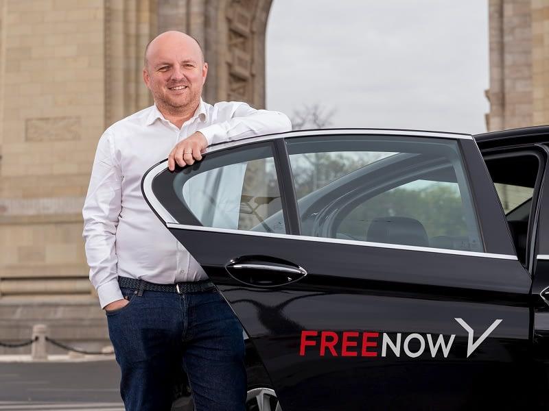 Andrei Frunza, General Manager FREE NOW Rumänien_Beitragsbild
