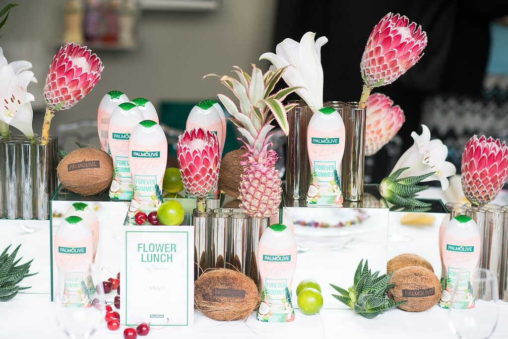 Palmolive Flower Lunch