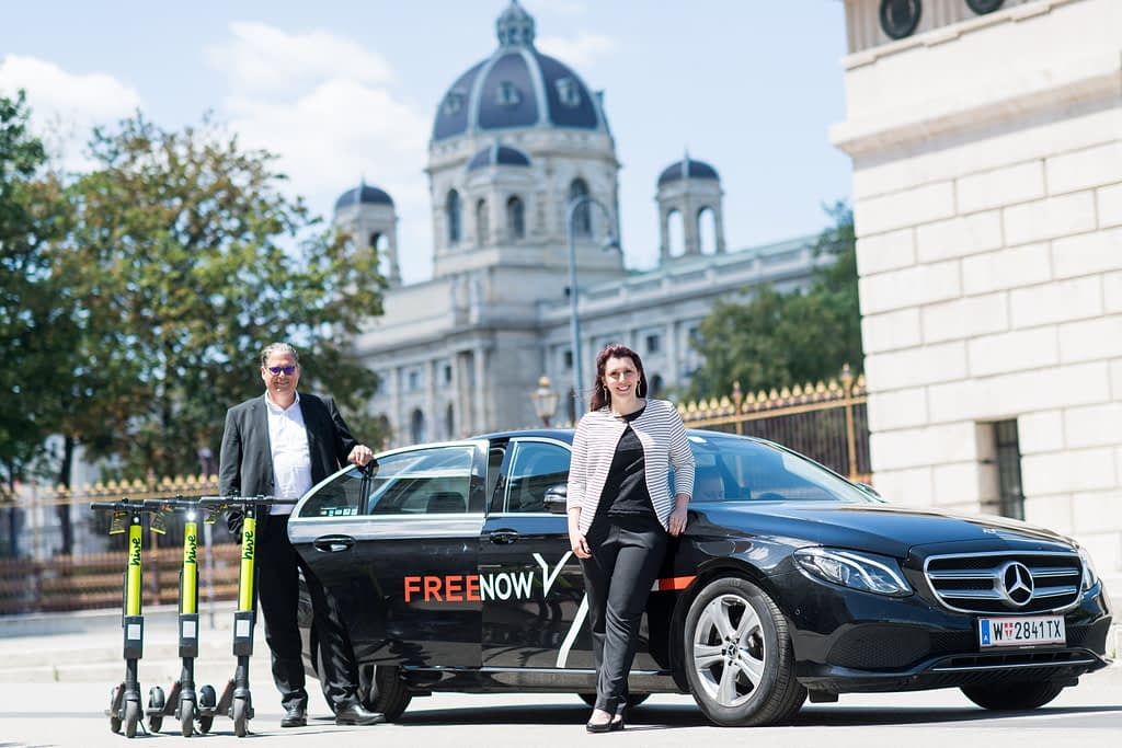 FREE NOW_Alexander Mönch und Sarah Lamboj_(c) Michael Gruber