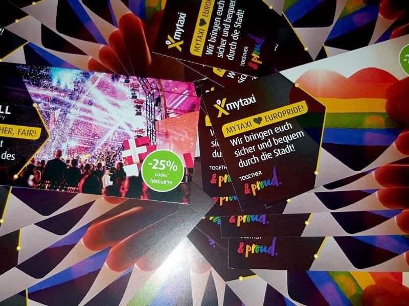 mytaxi unterstützt EuroPride & Life Ball_Beitragsbild