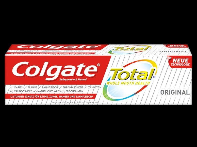Colgate Total Original Zahnpasta_Verpackung