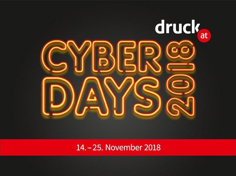Cyberdays bei druck.at
